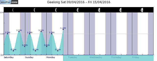 Avalon Tide Graph